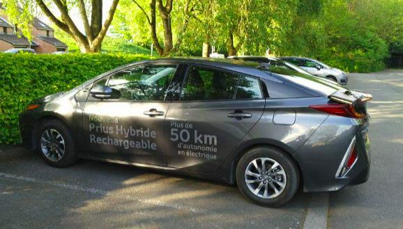 la Prius 4 rechargeable de Toyota : Record de consommation battu